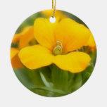 Sola floración - Wallflower Ornaments Para Arbol De Navidad