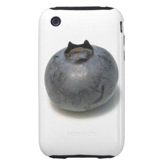 Sola fruta deliciosa del arándano tough iPhone 3 fundas