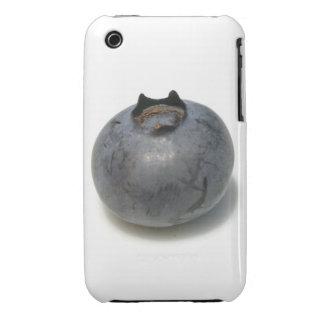 Sola fruta deliciosa del arándano iPhone 3 cobertura