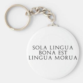 Sola Lingua Bona Key Chain