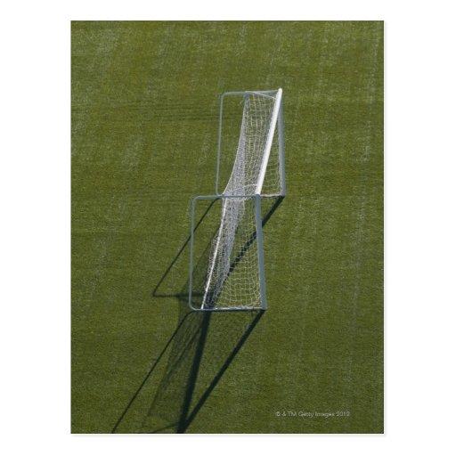 Sola meta del fútbol postales