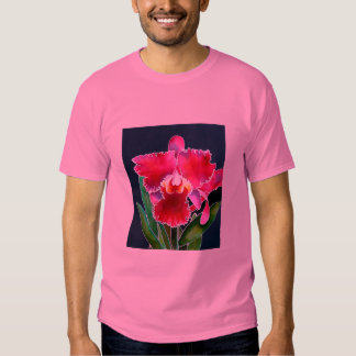 Sola orquídea rosada playera