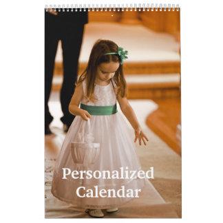Sola página personalizada del calendario