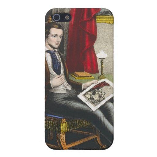 Sola pintura del soltero iPhone 5 protector