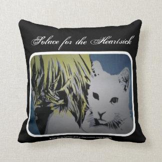 'Solace for Heartsick' (Throw) American MoJo Pillo Throw Pillows