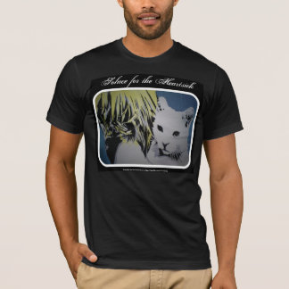 'Solace for the Heartsick' American Apparel Cat Sh T-Shirt