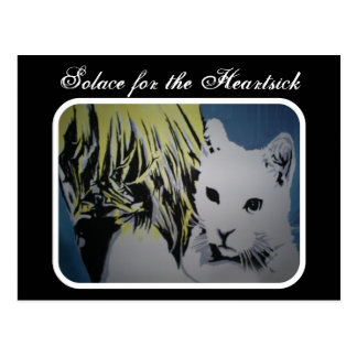 Solace for the Heartsick Postcard