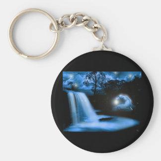 Solace in the Dark Basic Round Button Keychain