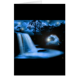 Solace in the Dark Greeting Card