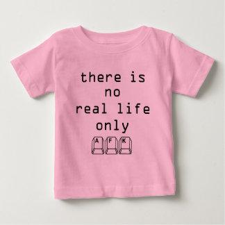 Solamente AFK Playera Para Bebé