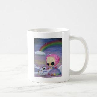Solamente amor y risa taza de café