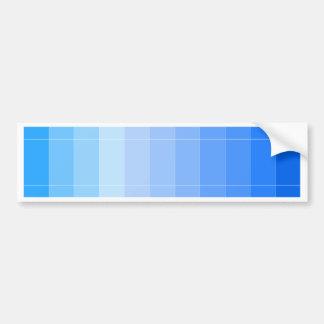 Solamente azul de cielo del color Ombre Pegatina Para Auto