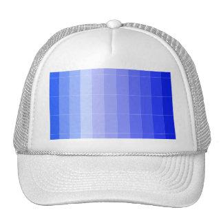 Solamente azul Ombre del color Gorros