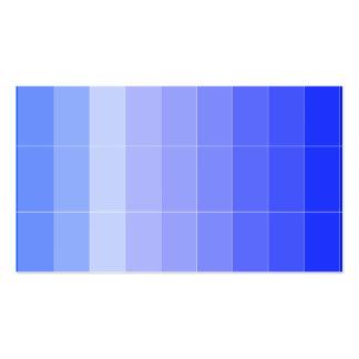 Solamente azul Ombre del color Tarjetas De Visita