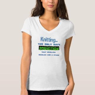 Solamente camiseta segura del apego