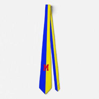 Solamente color Backgr. - azul real del 1/2 + su Corbatas Personalizadas