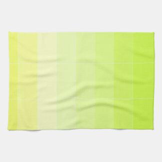 Solamente color Ombre amarillo Toallas