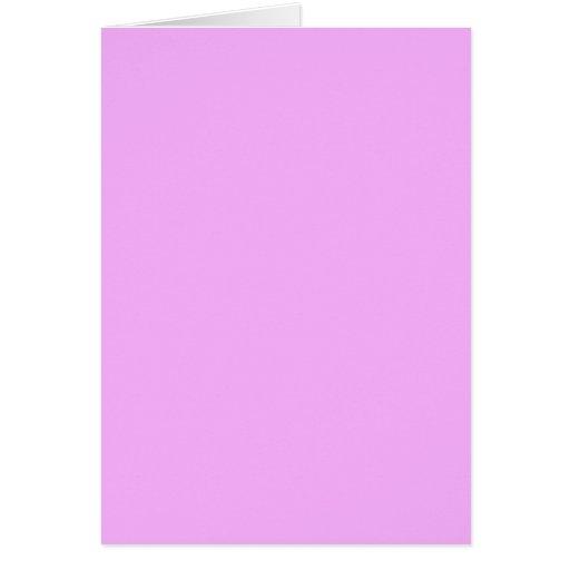 SOLAMENTE COLOR - rosa claro Felicitación