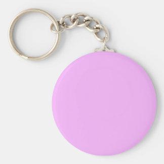 SOLAMENTE COLOR - rosa claro Llaveros Personalizados