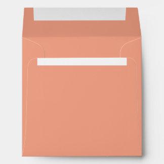 Solamente color sólido bonito OSCB17 del rosa de Sobres