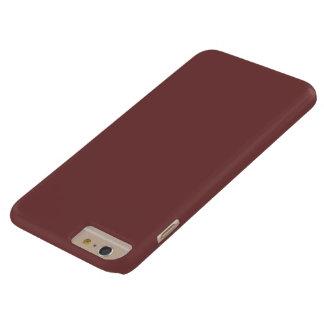 Solamente color sólido caliente magnífico OSCB21 Funda Para iPhone 6 Plus Barely There