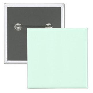 Solamente color sólido de la verde menta pin