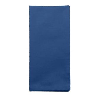 Solamente color sólido del azul de cobalto servilletas imprimidas