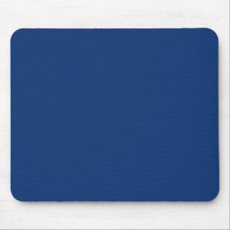 Solamente color sólido del azul de cobalto alfombrilla de ratón