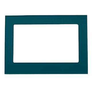 Solamente color sólido del trullo marcos magneticos de fotos