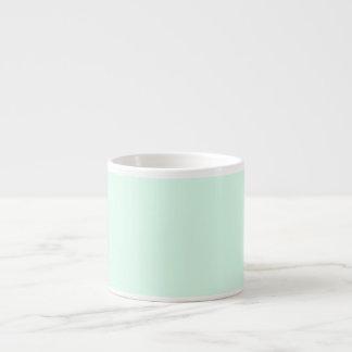 Solamente color sólido en colores pastel bonito de taza espresso