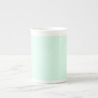 Solamente color sólido en colores pastel bonito de taza de porcelana