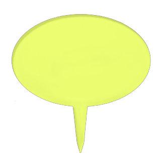 Solamente color sólido fresco amarillo OSCB20 de Figura Para Tarta