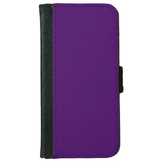 Solamente color sólido fresco profundo púrpura carcasa de iPhone 6