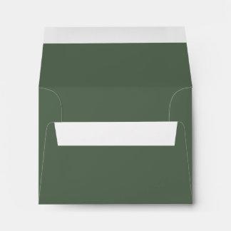 Solamente color sólido magnífico verde OSCB23 del Sobre