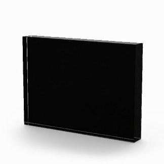 Solamente color sólido negro fresco OSCB18