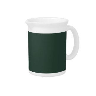 Solamente color sólido OSCB29 del vintage verde Jarra