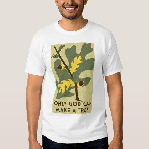 Solamente dios puede hacer una camisa de WPA del