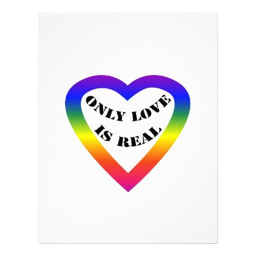Solamente el amor es real plantillas de membrete