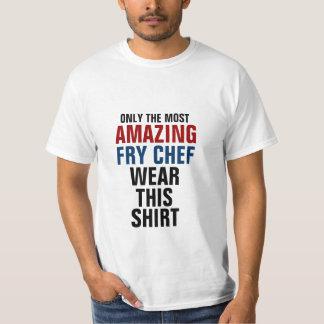 Solamente el desgaste más asombroso del cocinero polera