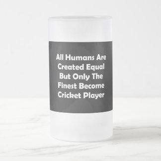 Solamente el jugador convertido más fino del taza de cristal