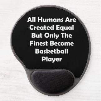 Solamente el jugador de básquet convertido más alfombrilla de raton con gel