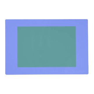 Solamente el panel azul OSCB32 del color sólido Tapete Individual