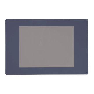 Solamente el panel gris sólido magnífico gris azul salvamanteles