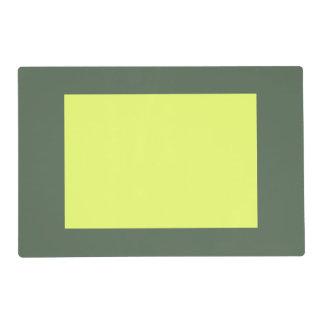 Solamente el panel magnífico verde OSCB23 de la Salvamanteles