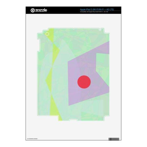Solamente en el hielo pegatinas skins para iPad 3
