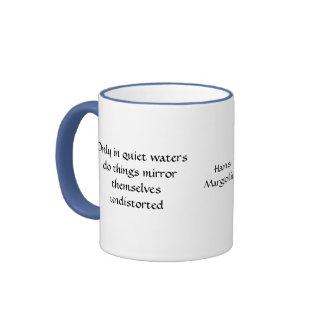 Solamente en las aguas reservadas - taza