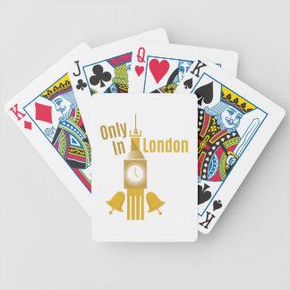 Solamente en Londres Barajas De Cartas