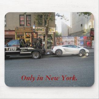 Solamente en Nueva York Mousepad Alfombrillas De Ratón