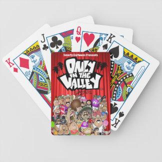 """""""Solamente en tarjetas del póker del valle"""" Barajas"""