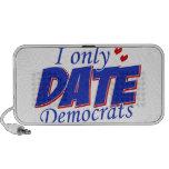 Solamente fecha Demócratas Laptop Altavoz